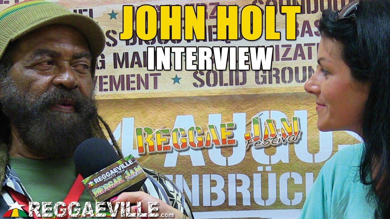 Interview with John Holt @ Reggae Jam [8/4/2013]