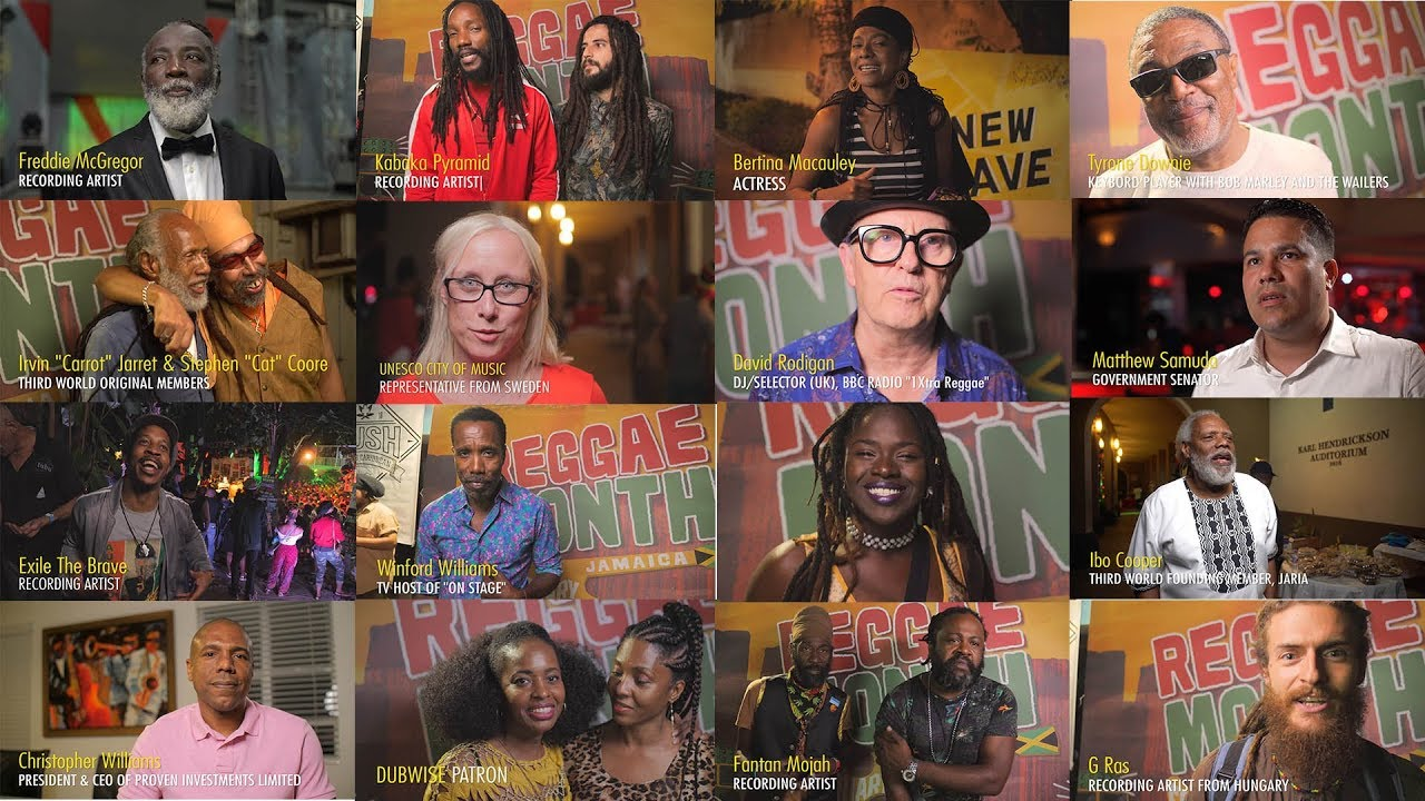 What Does Reggae Mean To You? (Reggae Month - JCDC 2018) [2/17/2019]