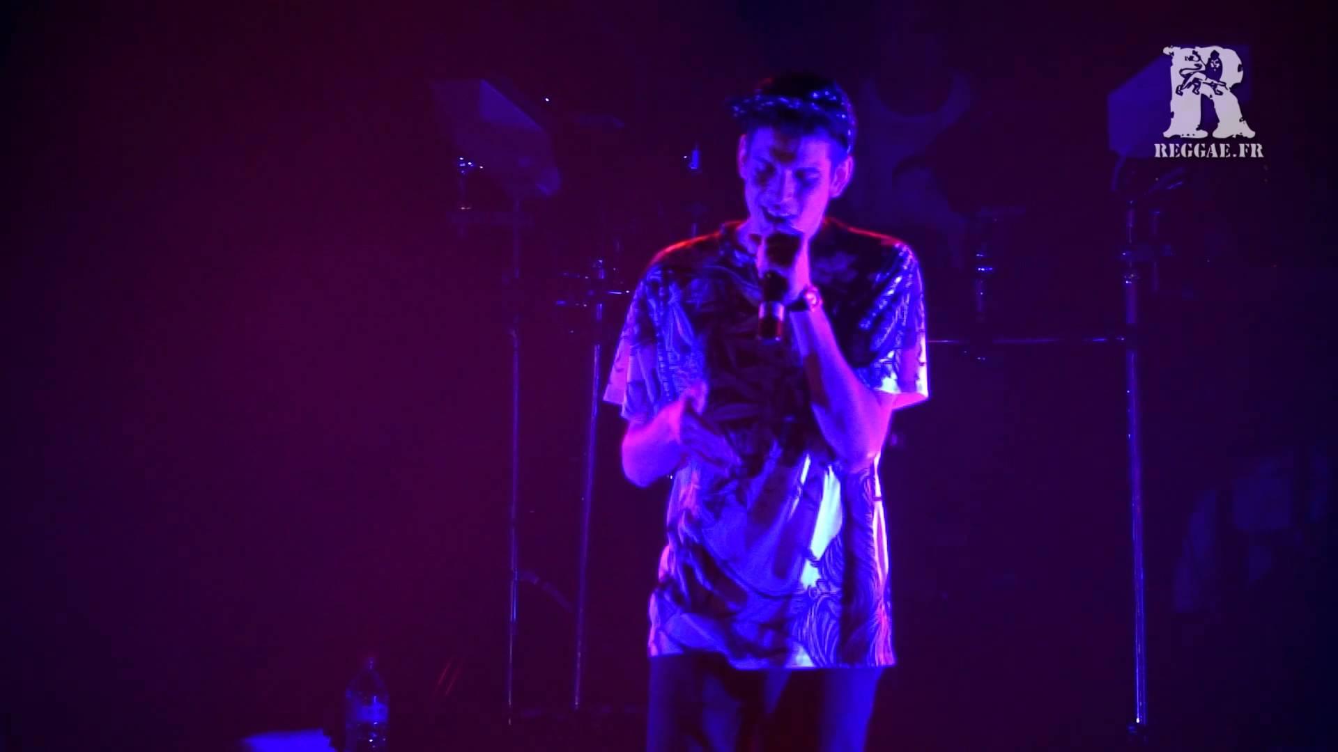 Biga Ranx - DJ for the Night in Laudun-l'Ardoise, France @ Zion Garden d'Hiver 2015 [3/7/2015]
