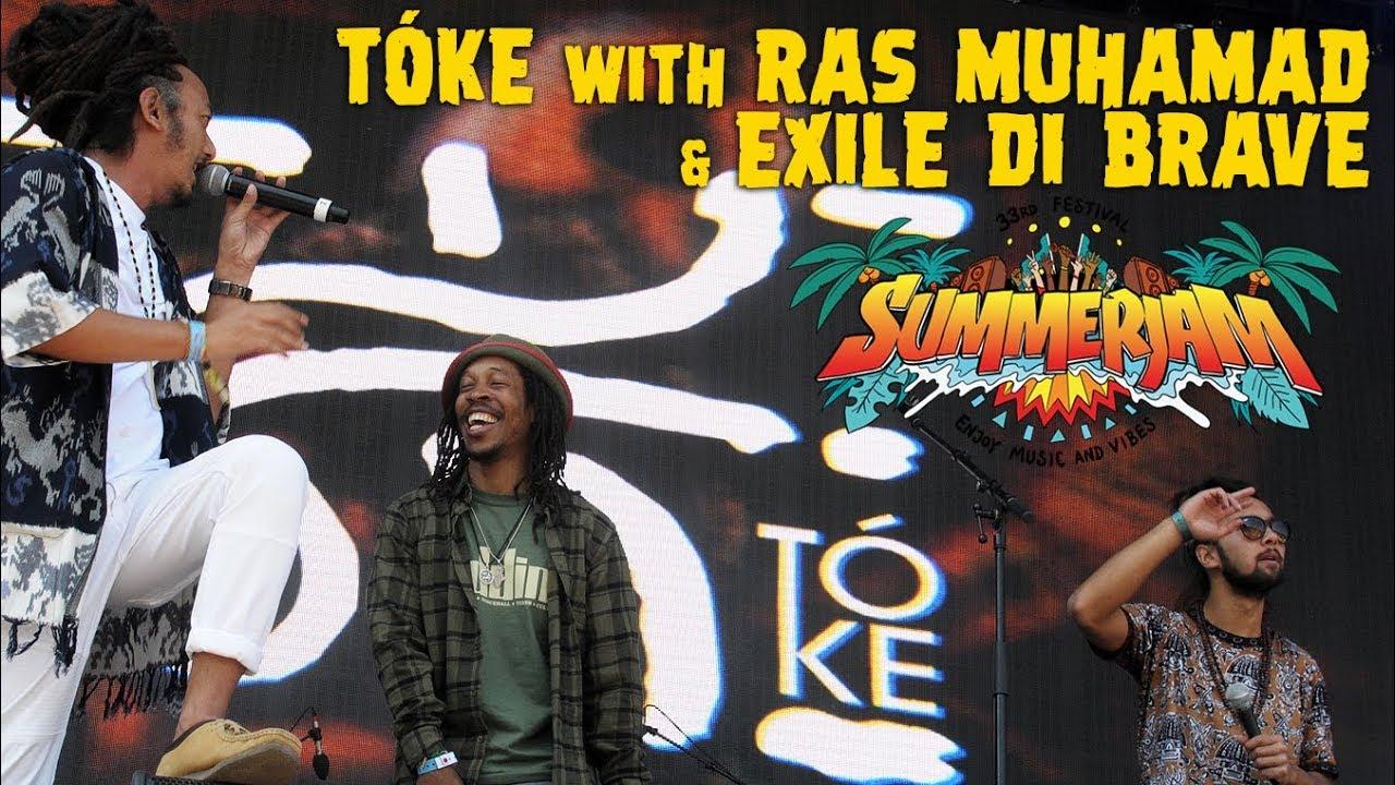 Tóke feat. Ras Muhamad & Exile Di Brave @ SummerJam 2018 [7/6/2018]