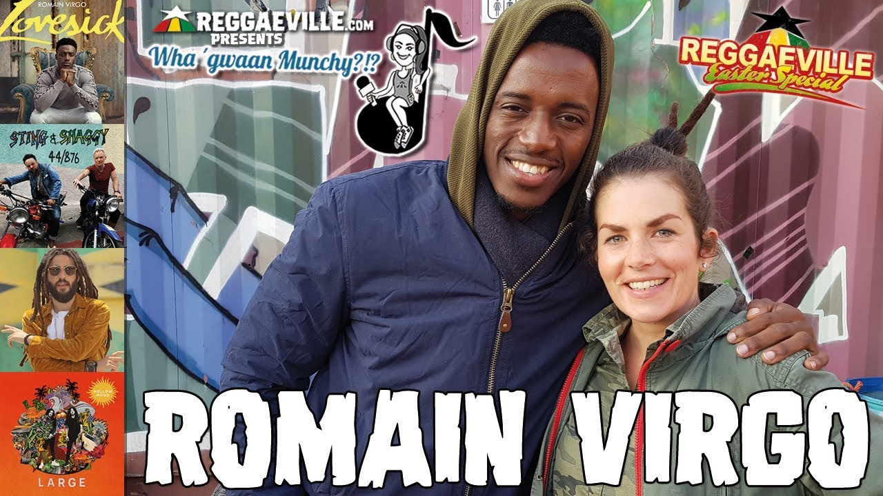 Romain Virgo @ Wha' Gwaan Munchy?!? #41 (April 2018) [4/2/2018]
