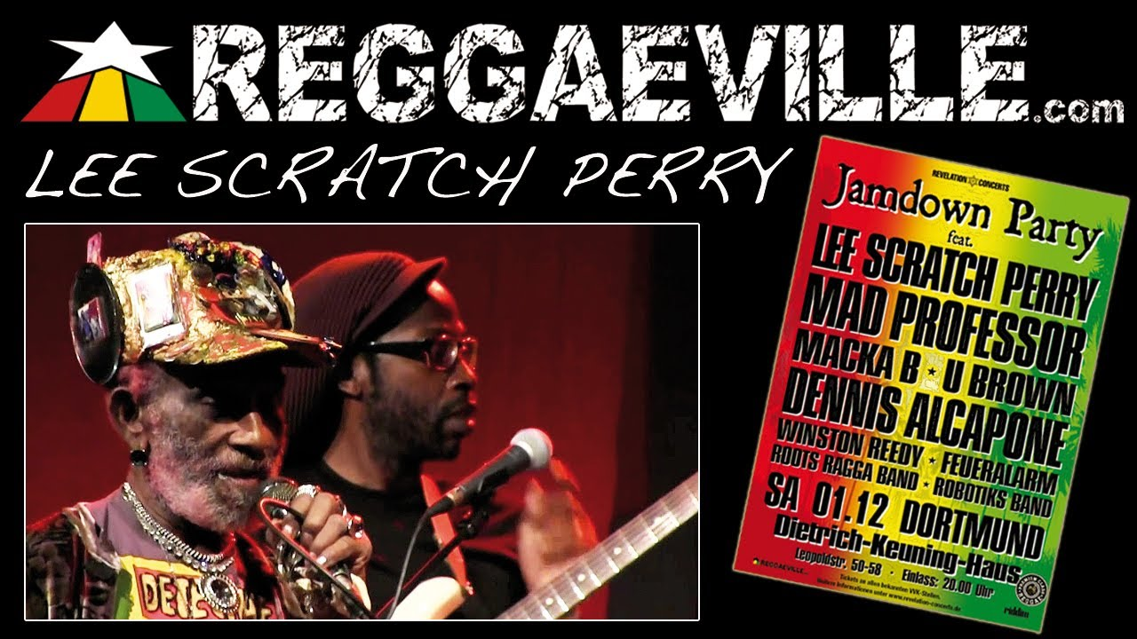 Lee Scratch Perry in Dortmund, Germany @ Jamdown Party [12/1/2012]