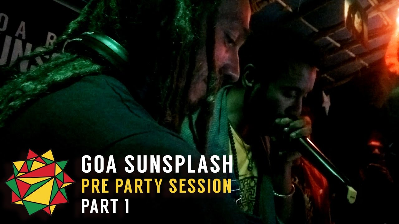 Goa Sunsplash 2016 Pre Party Freestyle @ Reggae Rules The Beach #1 [1/15/2016]