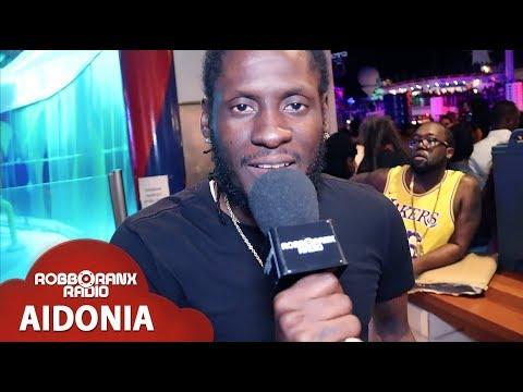Aidonia Interview by Robbo Ranx @ Welcome To Jamrock Reggae Cruise 2018 [12/5/2018]