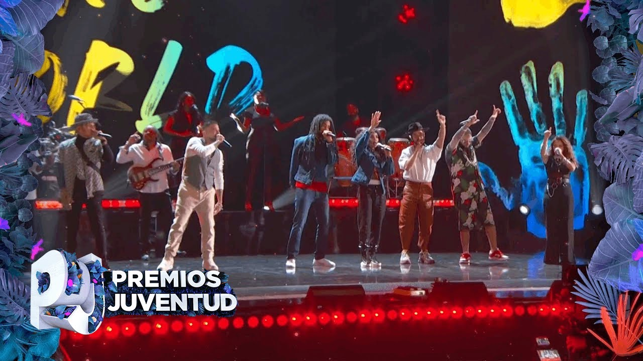 The Wailers, Skip & Cedella Marley and more - One World, One Prayer @ Premios Juventud 2020 [8/13/2020]