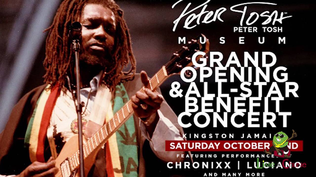Peter Tosh Museum - All-Star Benefit Concert 2016 [10/22/2016]
