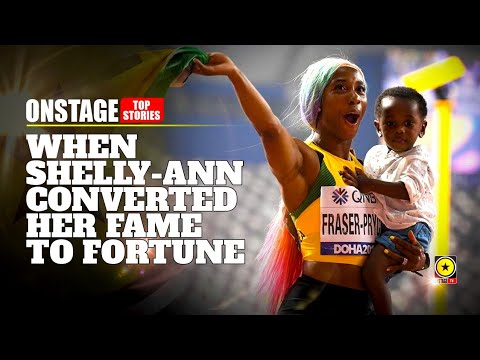 When Shelly-Ann Fraser Pryce Converted Her Fame To Fortune (OnStage TV) [10/7/2019]