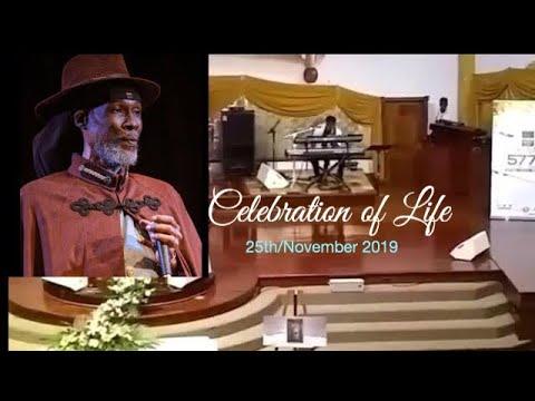 Vaughn Benjamin Funeral Service - Celebration of Life in Antigua [11/25/2019]