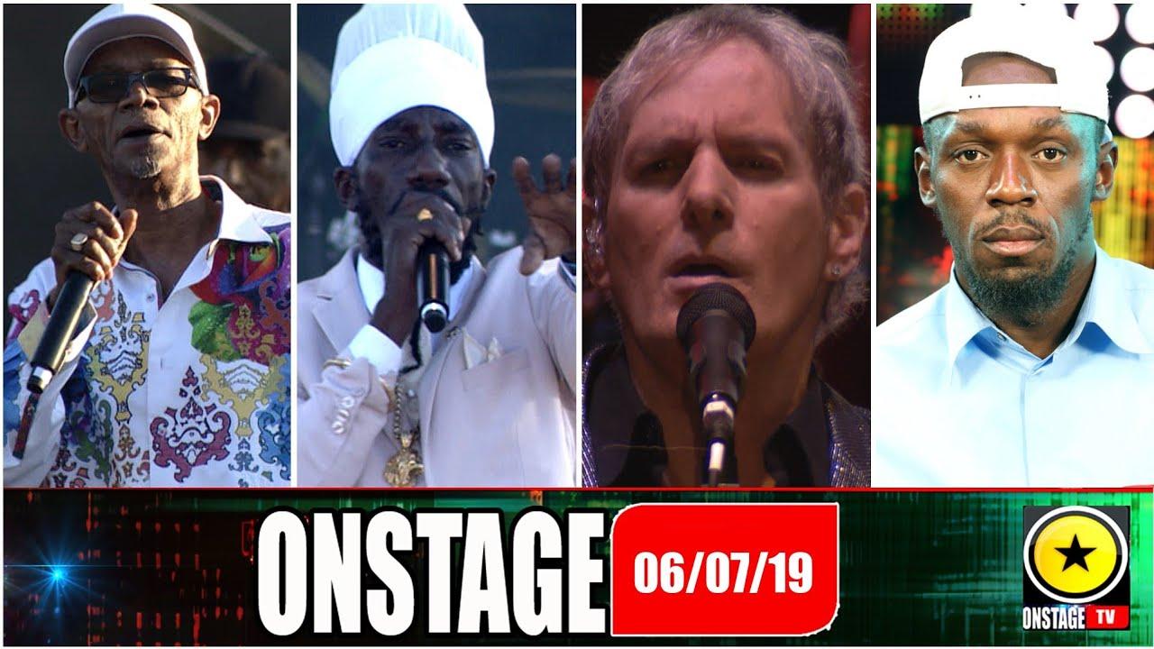 Usain Bolt, Rodigan, Beres Hammond, Sizzla - OnStage TV [7/6/2019]