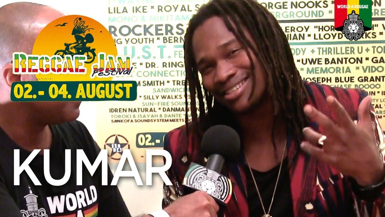 Kumar Interview by World A Reggae @ Reggae Jam 2019 [8/3/2019]
