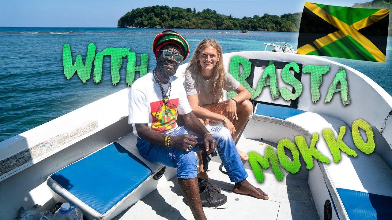 Exploring Jamaica with Ras Mokko (BackpackingSimon Vlog) [3/29/2019]