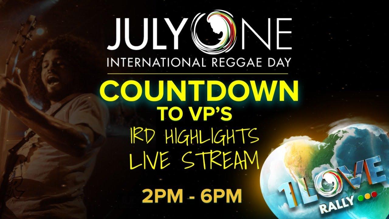 Int'l Reggae Day 2021 (Livestream) [7/1/2021]