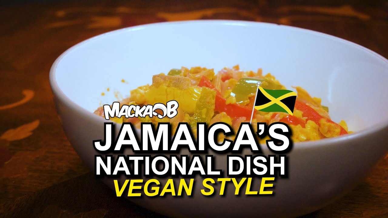 Macka B's Wha Me Eat Wednesdays - Jamaica's National Dish Vegan Style [1/6/2021]