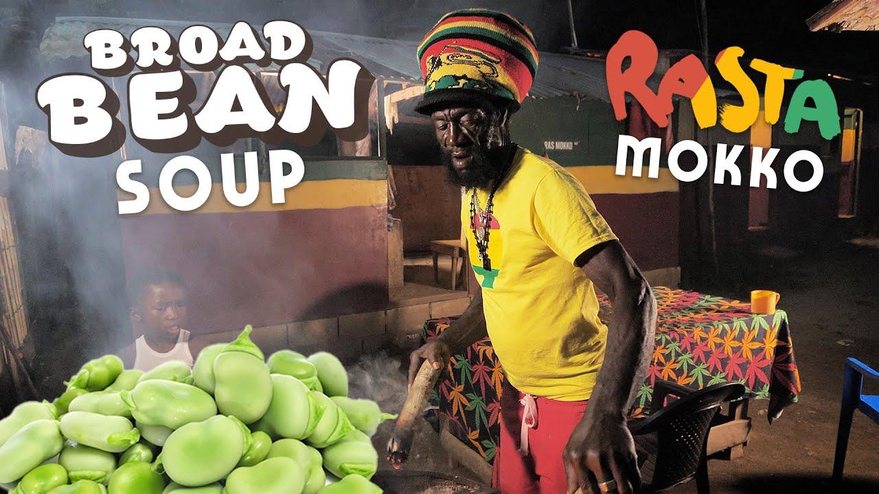 Ras Kitchen - Broad Bean & Cucumber Soup with Rasta Mokko! [5/29/2020]