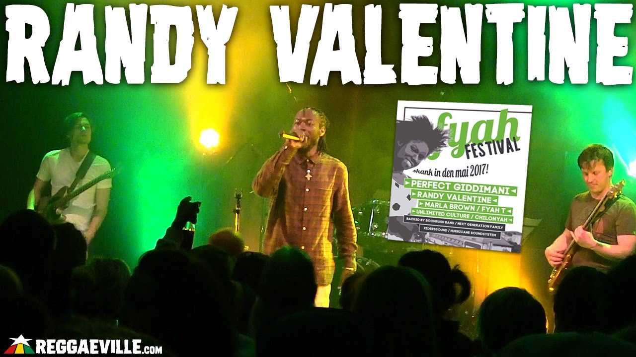Randy Valentine & Boomrush Backup @ Fyah Festival in Munich, Germany [4/30/2017]