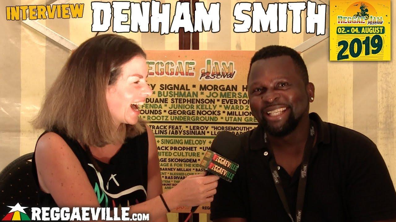 Denham Smith - Interview @ Reggae Jam 2019 [8/1/2019]