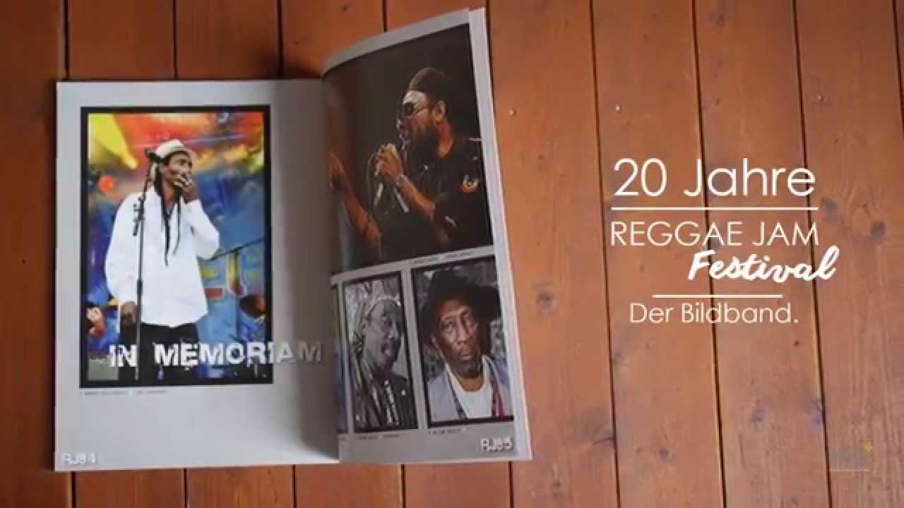 20 Years of Reggae Jam Photo-Book [8/22/2014]