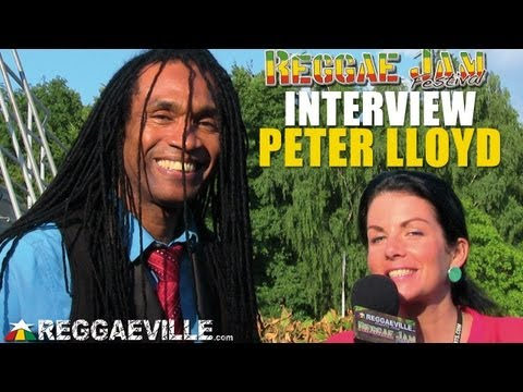 Interview with Peter Lloyd @Reggae Jam [8/3/2013]