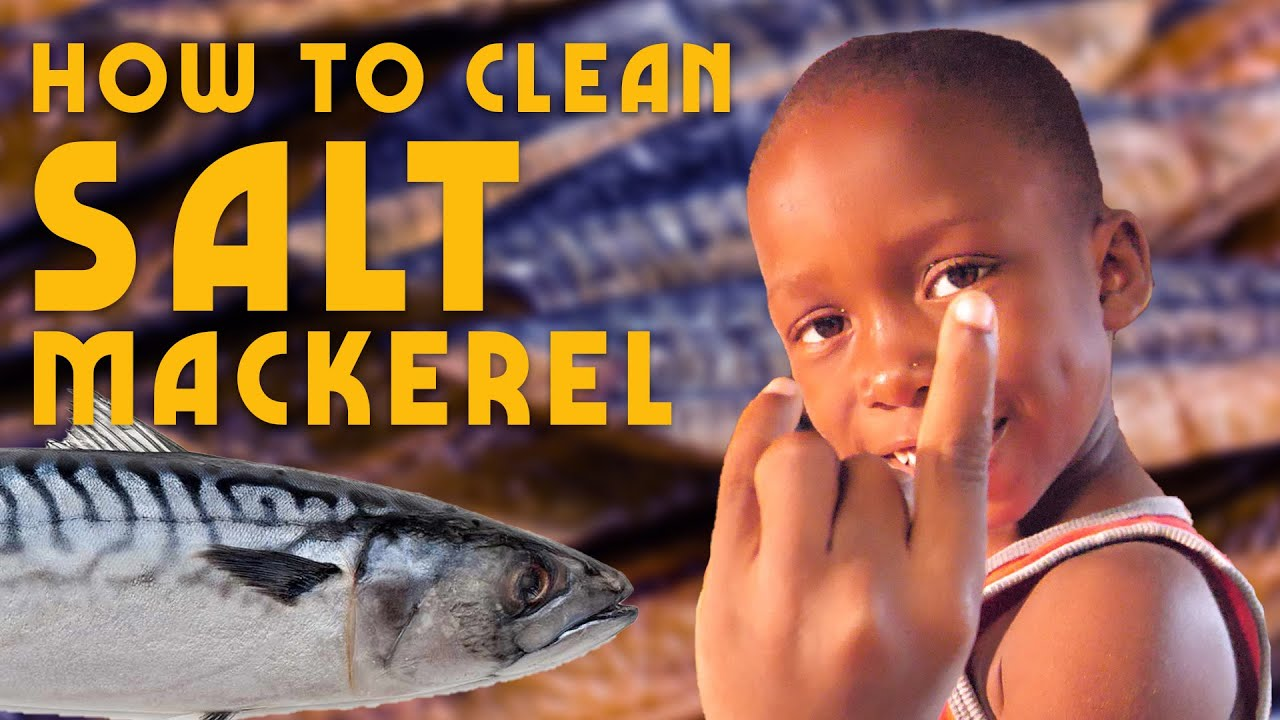 Ras Kitchen - How to Clean Salt Mackerel (like an Unruly Boss)! [9/2/2019]