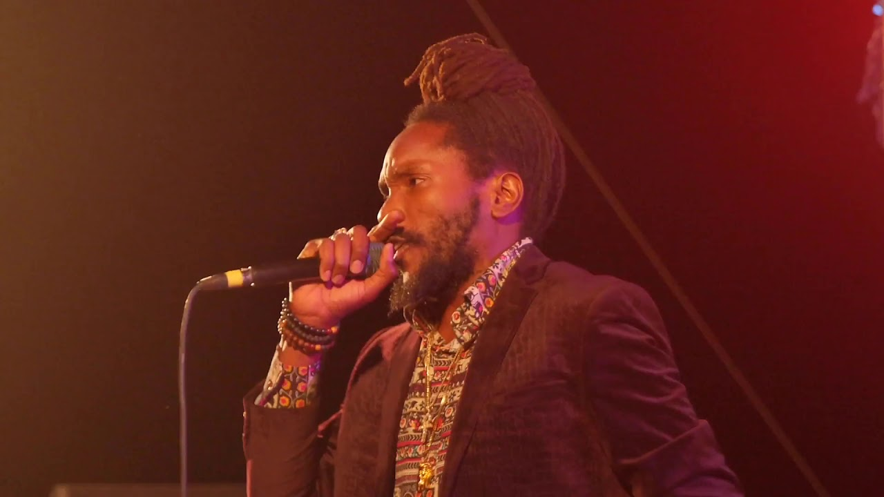 Kabaka Pyramid in Kingston, Jamaica @ Police Officers Club [12/28/2018]