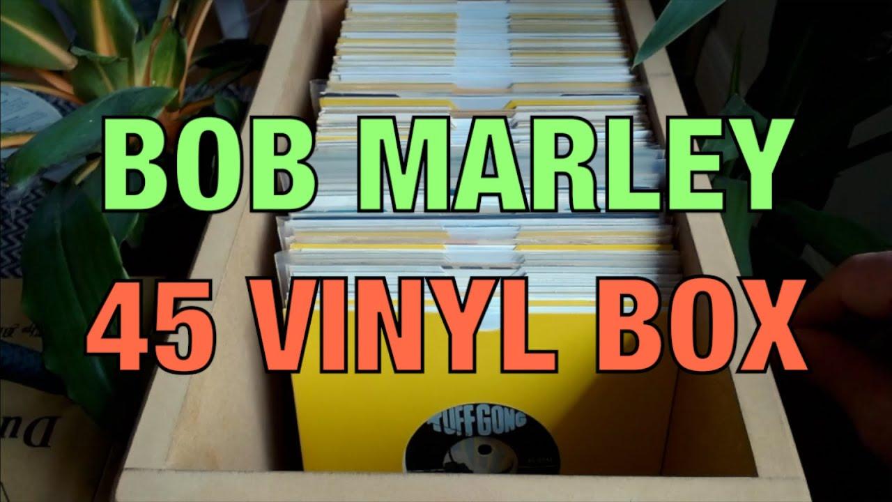 "Look Through A Box Of Bob Marley 7"" Singles - Vinyl Record Collection Talk On A Rainy Day [5/20/2021]"