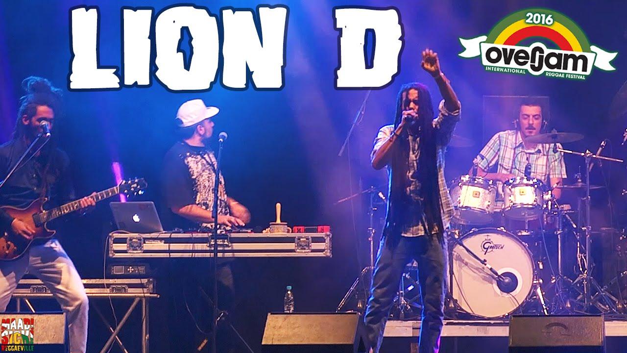 Lion D @ OverJam Reggae Festival 2016 [8/16/2016]