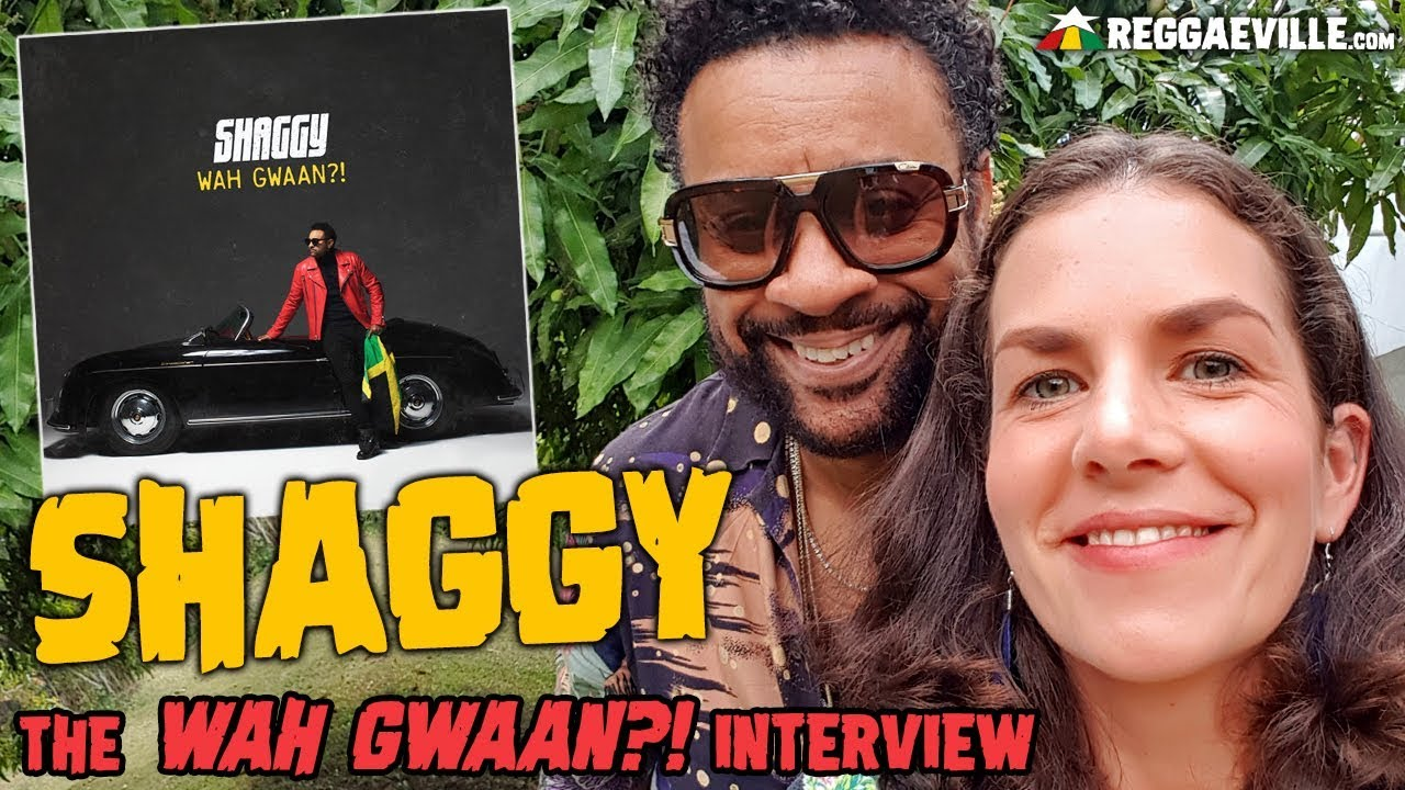 Shaggy - The Wah Gwaan?! Interview in Jamaica [5/3/2019]