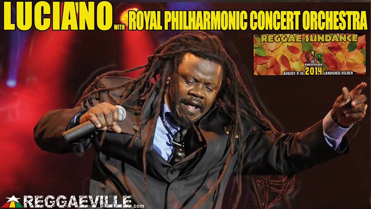Luciano - Uterior Motive with Royal Philharmonic Concert Orchestra @ Reggae Sundance 2014 [8/9/2014]