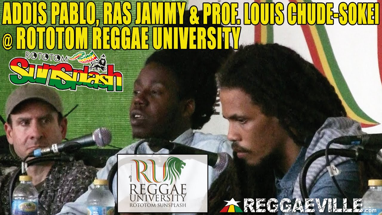 Addis Pablo & Ras Jammy @ Rototom Reggae University | The Return Of Dub In Jamaica [8/18/2014]