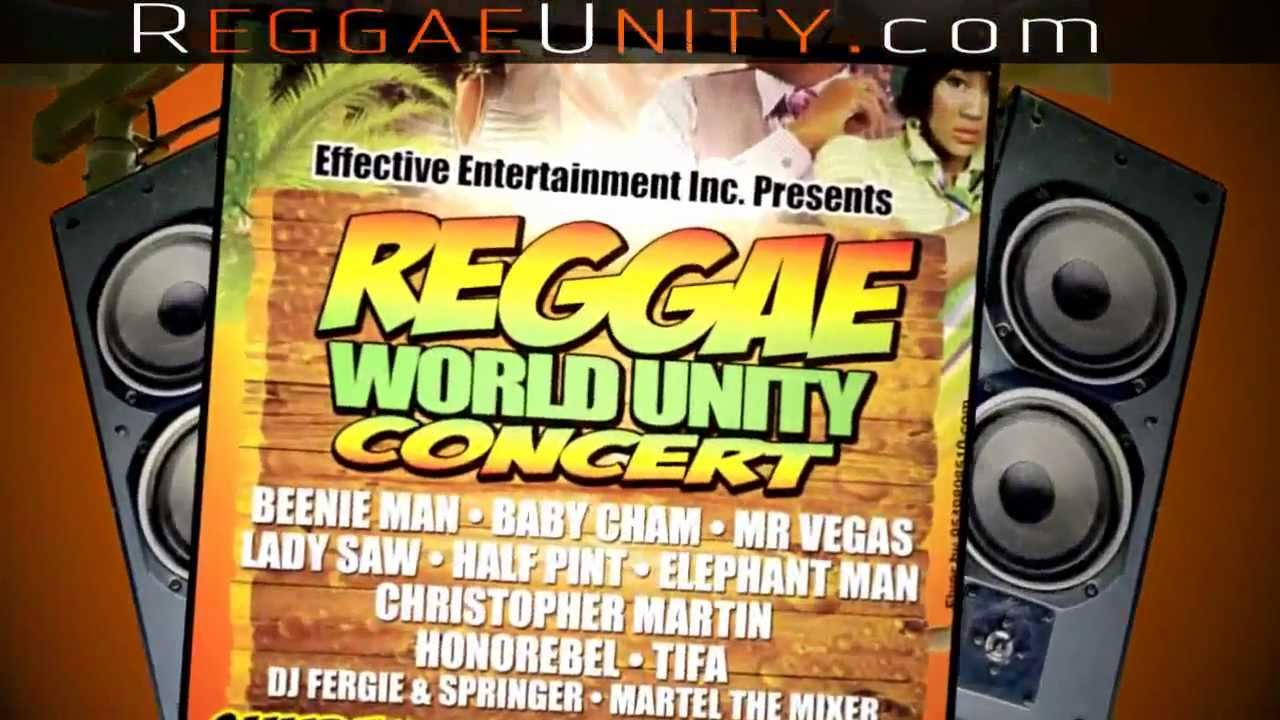 Trailer: Reggae World Unity Concert 2013 [12/27/2012]