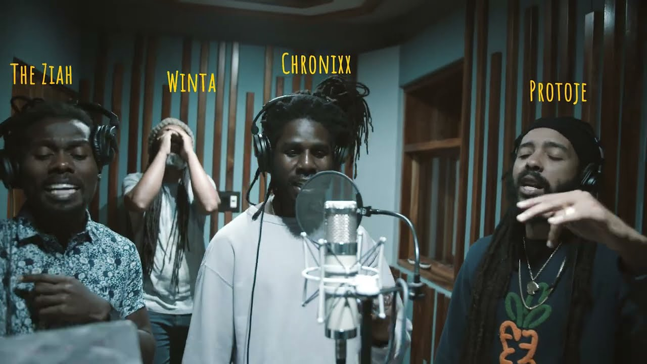 Koffee & Protoje feat. Chronixx, Lila Ike, Sevana and Jaz Elise - Switch It Up Studio Session [3/24/2021]