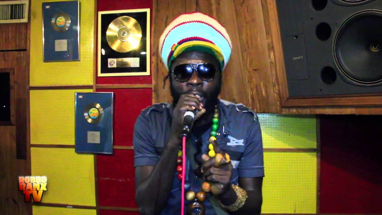 Jah Bouks @ Tuff Gong live for Robbo Ranx [2/10/2014]