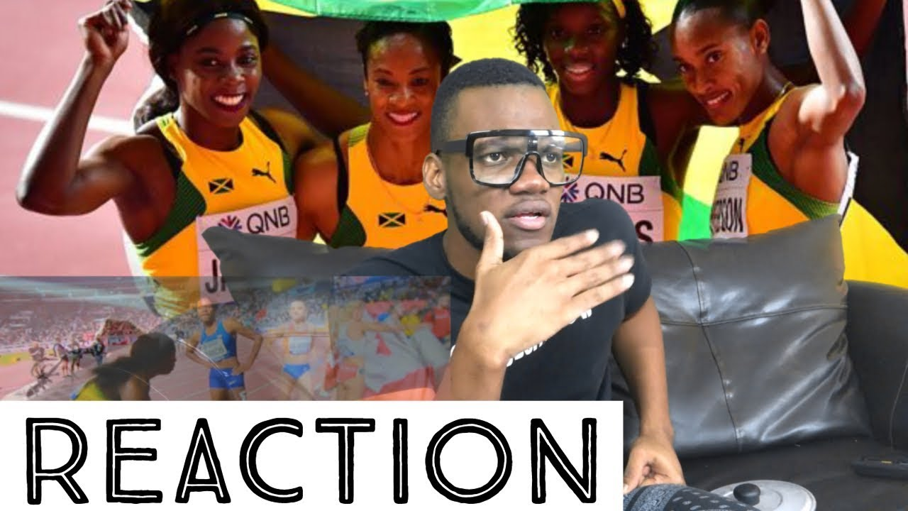 Jamaican Women's 4x400m Relay Team Disqualified in Doha (Reaction) [10/7/2019]