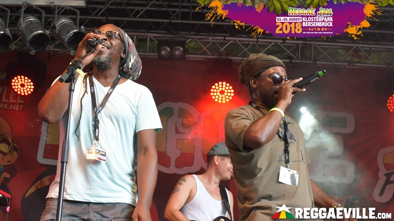 Singing U & Cat @ Reggae Jam 2018 [8/4/2018]