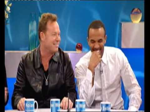 Ali Campbell @ Loose Woman TV-Show [6/24/2009]