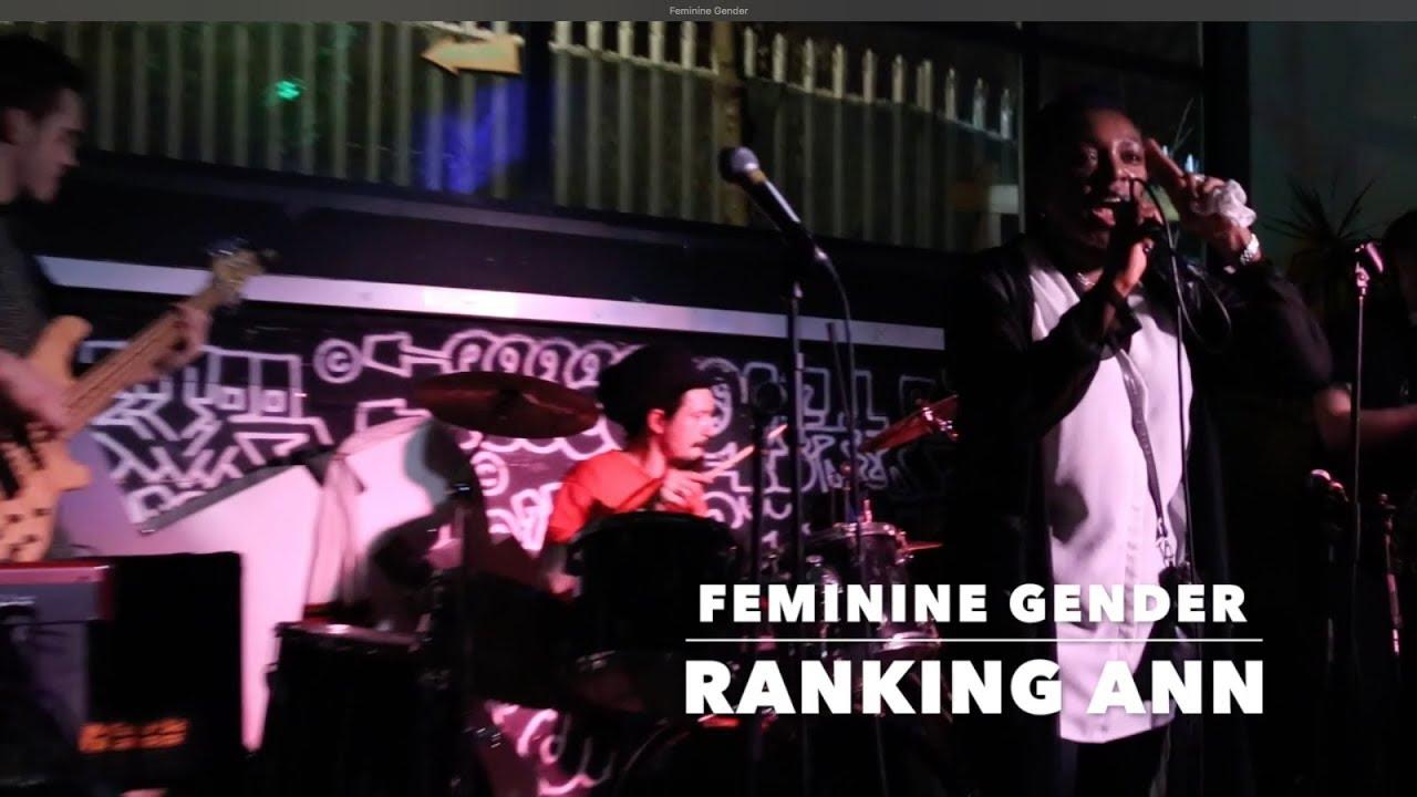 Ranking Ann & The DubHouse Band - Feminine Gender in London, UK @ Grow Hackney [2/18/2018]