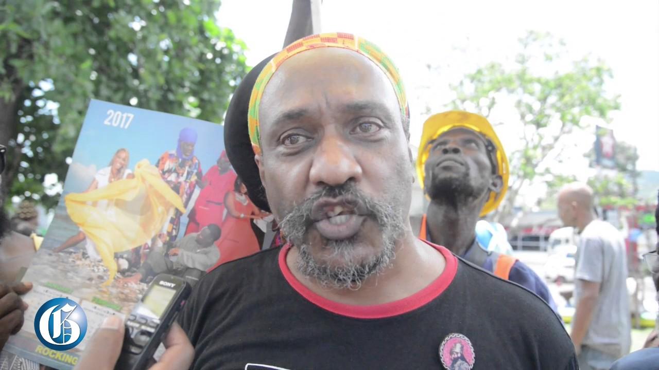 Yasus Afari Livid Over Fake Marcus Garvey Sculpture @Jamaica Gleaner [6/26/2017]