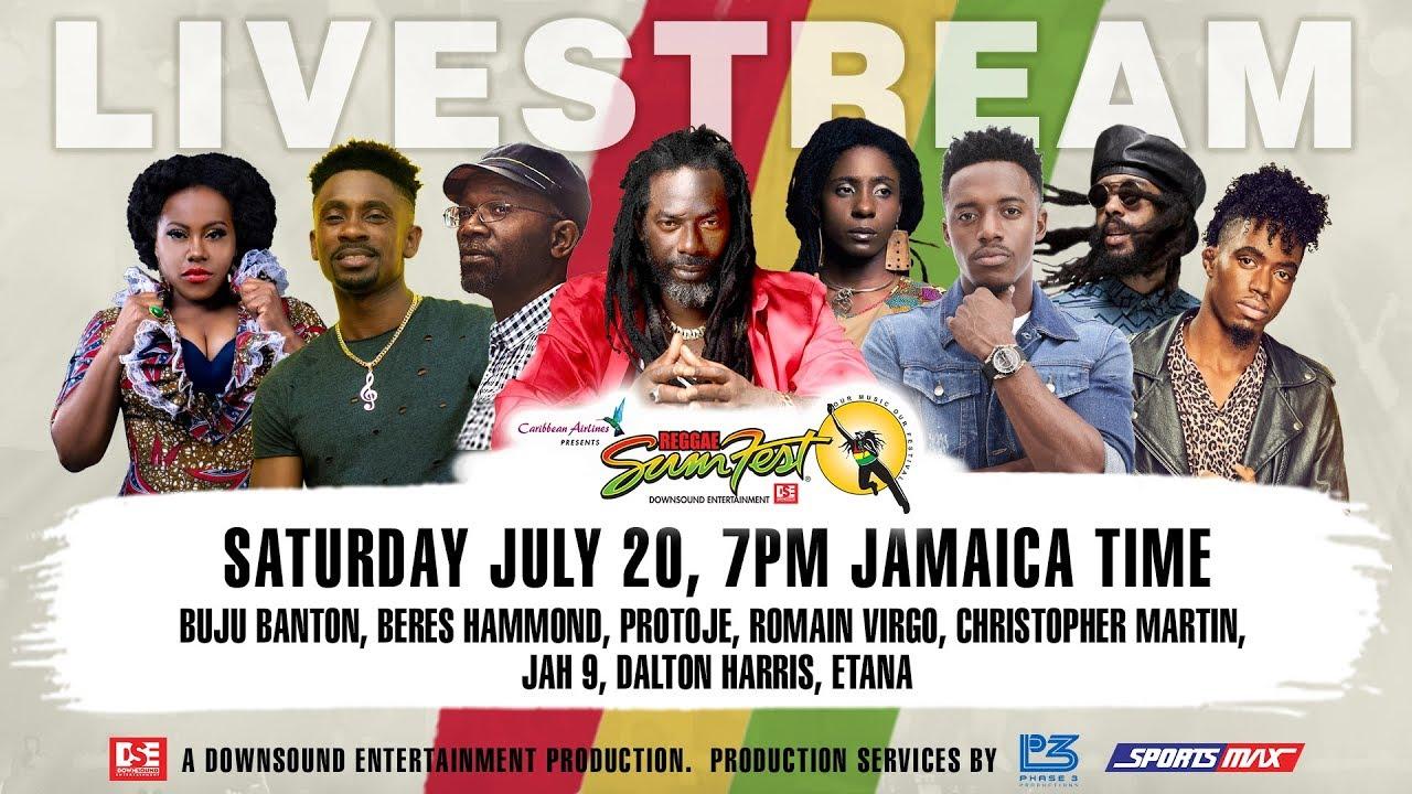 Live Stream - Reggae Sumfest (Festival Night 2) [7/20/2019]
