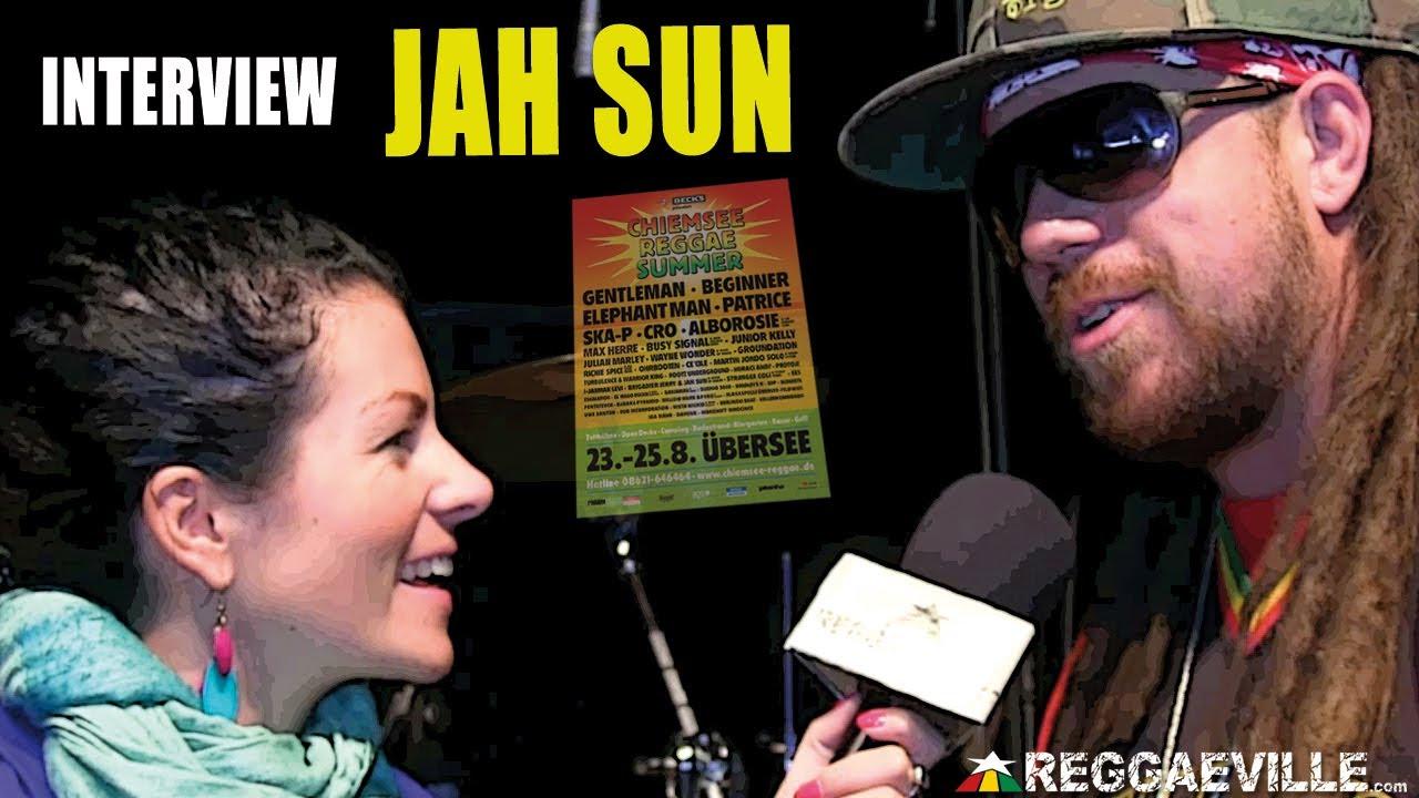 Interview with Jah Sun @ Chiemsee Reggae Summer [8/25/2013]