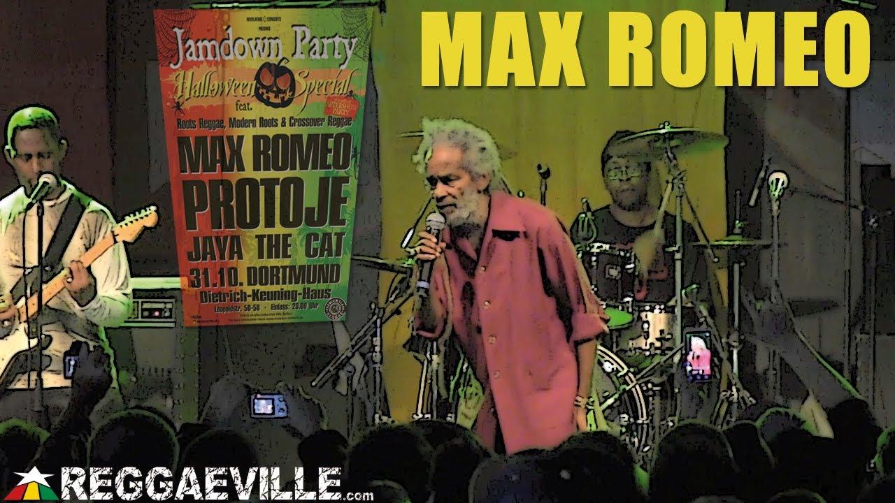 Max Romeo @ Jamdown Party In Dortmund, Germany