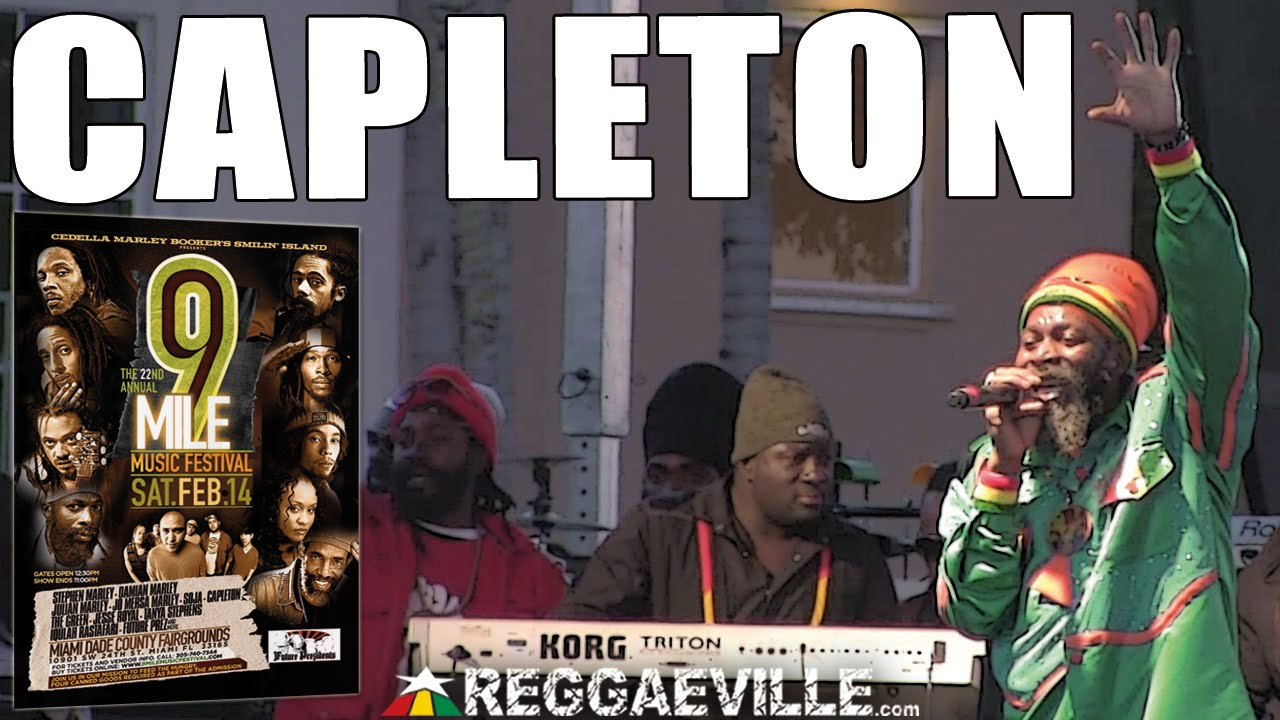 Capleton - No Guns @ 9 Mile Music Festival in Miami, FL [2/14/2015]