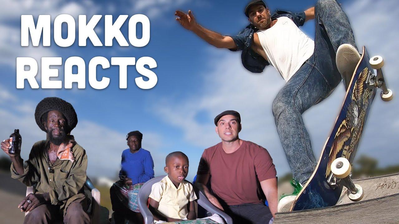 Ras Kitchen - Mokko Reacts to Skateboard Video! [6/12/2020]