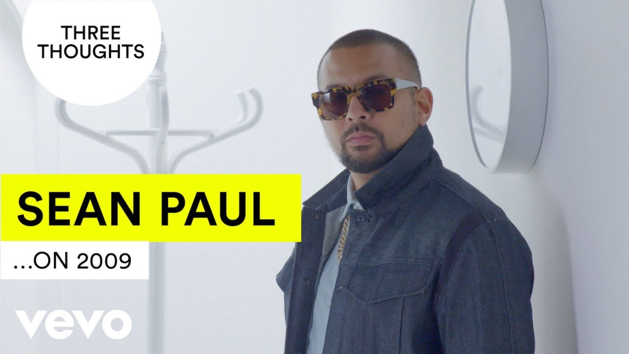 Sean Paul does his very own Ten Year Challenge [1/18/2019]