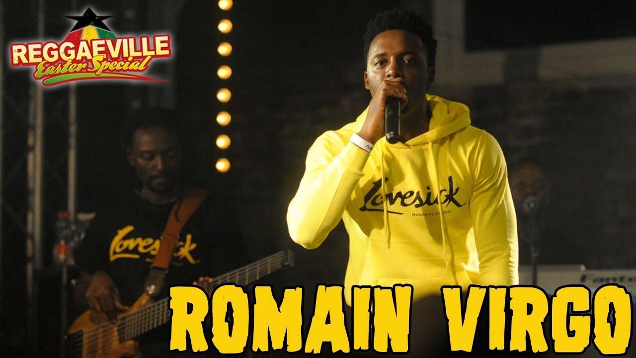 Romain Virgo in Dortmund @JunkYard -Reggaeville Easter Special 2018 [3/31/2018]