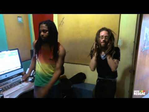 Ratigan & Jallanzo - Reggae Vibez @ BMG Studio in Portmore, Jamaica [1/14/2016]