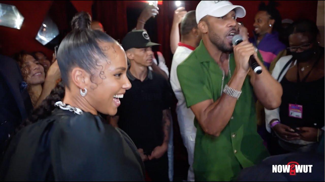 Alicia Keys & Cham - Ghetto Story @ Swizz Beatz Birthday Extravaganza 2021 [9/13/2021]