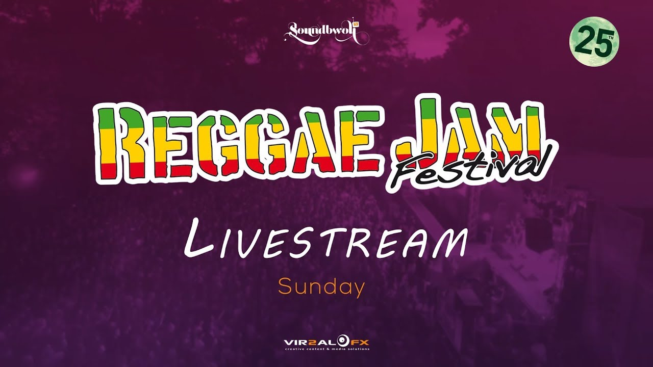 Reggae Jam 2018 - Live Stream (Day Three) [8/5/2018]