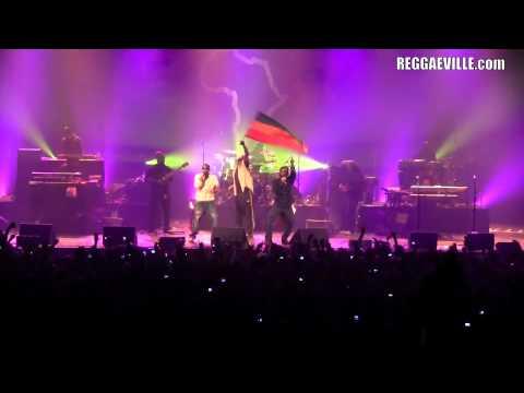 Damian Marley - Paris, France @ Zenith [4/5/2011]