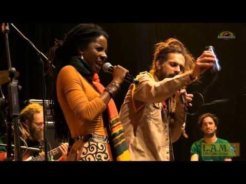 Jah9 & Pura Vida - Showers Of Blessings in Bredene, Belgium @ Cultuurdienst [12/3/2015]