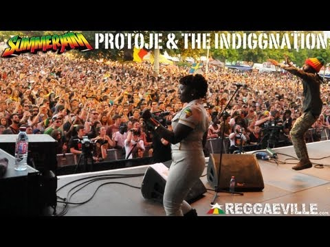 Protoje & The Indiggnation - Music From My Heart @SummerJam [7/7/2013]